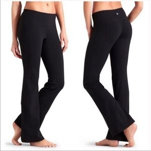 Athleta boot cut work out pants. Worn once!